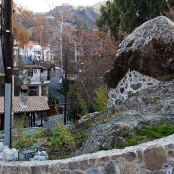 Деревня Какопетрия на Кипре