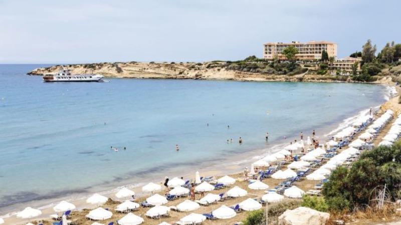 вид на море на Кипре